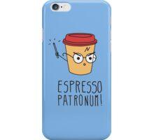 Harry Potter - Espresso Patronum  iPhone Case/Skin