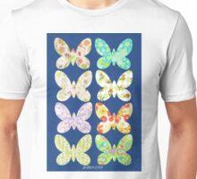 UNUSUAL EXOTIC BUTTERFLIES Unisex T-Shirt