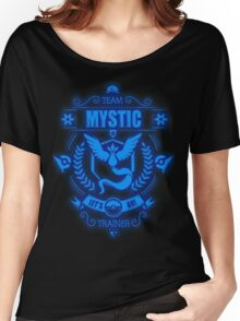 Team Mystic Trainer Lets Go Women's Relaxed Fit T-Shirt