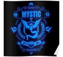 Team Mystic Trainer Lets Go Poster