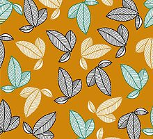 graphically leaves by Avrora-slip