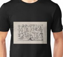 0067 ballooning Balloons airships and other flying machines designed with some form of propulsion E Morieu sc Unisex T-Shirt