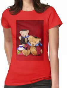 Teatime for the Clever Teds Womens Fitted T-Shirt