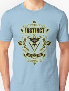Team Instinct Trainer Lets Go Unisex T-Shirt