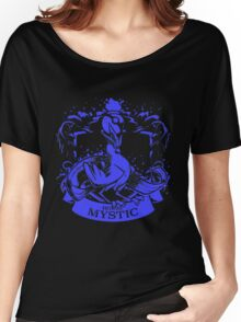 Team Mystic Blue Squad 0001 Women's Relaxed Fit T-Shirt