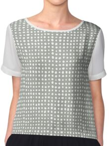 hand draw geometric pattern Chiffon Top