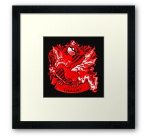 Team Valor Red Squad 0001 Framed Print