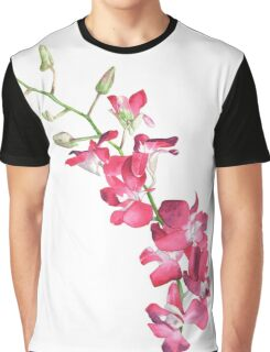 Singapore Orchid Graphic T-Shirt