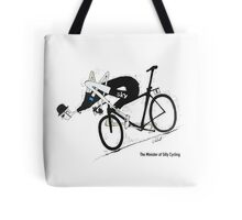 The Minister of Silly Cycling Tote Bag