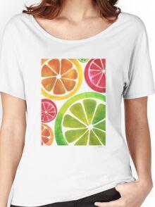 A Burst of Citrus Women's Relaxed Fit T-Shirt