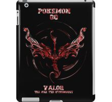 Valor we are the Strongest iPad Case/Skin