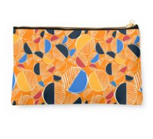 Orange Doodle  Studio Pouch