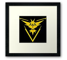 -GEEK- Team Instinct Framed Print