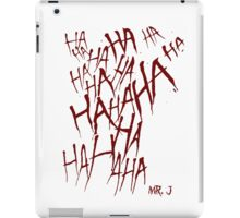 JOKER LAUGH (RED) TATTOO iPad Case/Skin