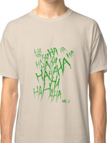 JOKER LAUGH (GREEN) TATTOO Classic T-Shirt