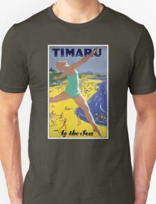 New Zealand Vintage Travel Poster Unisex T-Shirt