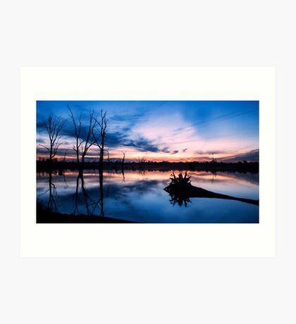 Kings Billabong, Nichols Point (Mildura) Art Print