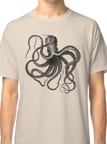 Vintage Octopus Illustration Classic T-Shirt