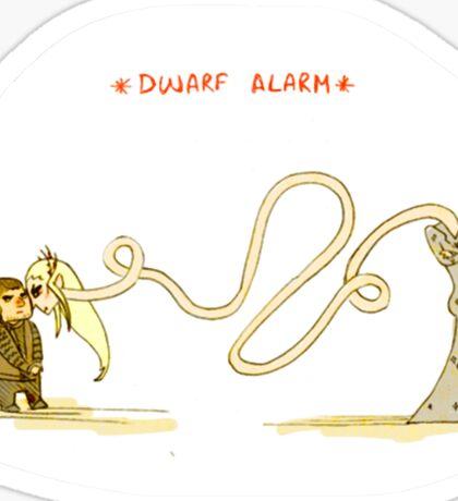 Dwarf Alarm Sticker