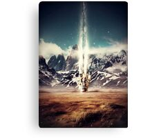 Struck By Gravity Canvas Print