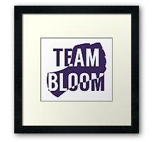 Team Bloom Framed Print