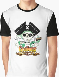The Goonies - Never Say Die Graphic T-Shirt