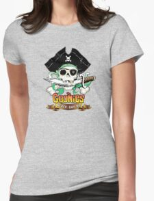 The Goonies - Never Say Die Womens Fitted T-Shirt