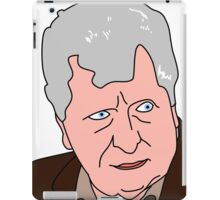 The Curator - Tom Baker Doctor Who iPad Case/Skin