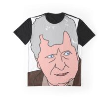 The Curator - Tom Baker Doctor Who 2 Graphic T-Shirt