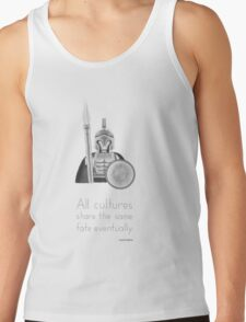 Sparta - All Cultures Share the Same Fate Eventually Tank Top