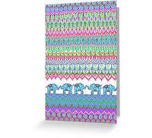 Tiny Circus Elephants Greeting Card