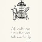Tribal  - All Cultures Share the Same Fate Eventually by newmindflow