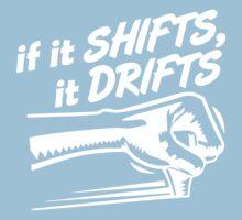 if it SHIFTS, it DRIFTS (1) One Piece - Short Sleeve