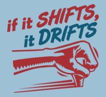 if it SHIFTS, it DRIFTS (2) One Piece - Short Sleeve