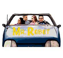 Mr Robot - Sitcom '80s '90s Photographic Print