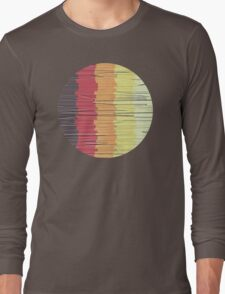 Shreds of Color 5 Long Sleeve T-Shirt