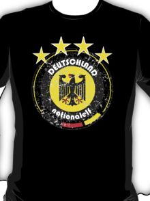 World Cup Football 3/8 - Team Deutschland (distressed) T-Shirt