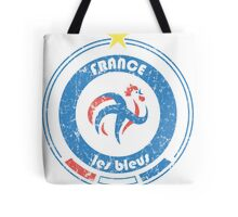 World Cup Football 7/8 - Team France (distressed) Tote Bag