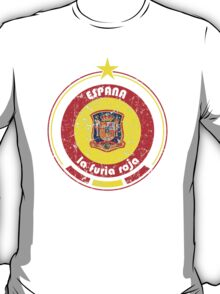 World Cup Football 8/8 - Team Espana (distressed) T-Shirt