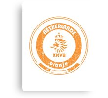 World Cup Football - Team Netherlands (distressed) Canvas Print