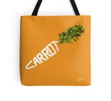 CARROT - - - - - - - EAT YOUR VEGETABLES Tote Bag
