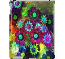 Painted Flowers iPad Case/Skin