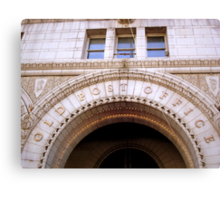 The Old Post Office- Washington DC    ^ Canvas Print