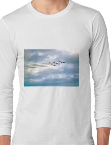 Emerging From The Smoke Trail Long Sleeve T-Shirt