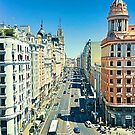 Madrid. Gran Via by terezadelpilar ~ art & architecture
