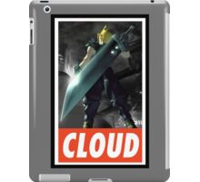 (FINAL FANTASY) Cloud In Game  iPad Case/Skin