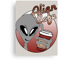Alien Cafe Canvas Print