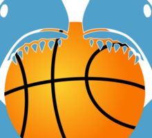 Let's play basketball Sticker