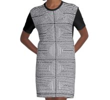 Rectangle II. Graphic T-Shirt Dress