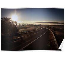 Winter Sunrise, Kings Highway Poster